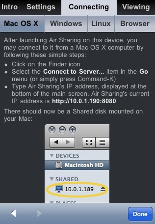 Air Sharing, utiliza tu iPhone o Touch como disco inalámbrico