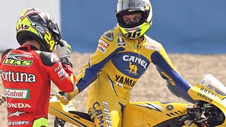Rossi Elias Portugal Motogp 2006