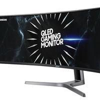 Samsung sigue apostando por la curva en el mercado gaming: así lucen las 49 pulgadas del Samsung C49RG9