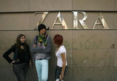 Zara venderá sus colecciones por Internet
