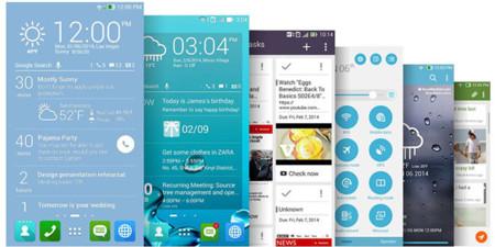 ASUS ZenUI, la nueva interfaz propia para sus dispositivos Android