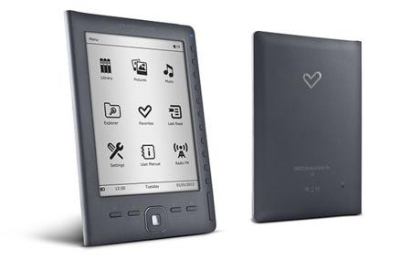 Energy eReader E6 Rubber, 1.500 libros por cien euros