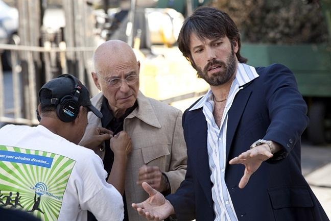 Ben Affleck dirigiendo 'Argo'