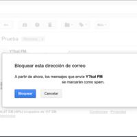 Cómo bloquear contactos y direcciones en Gmail