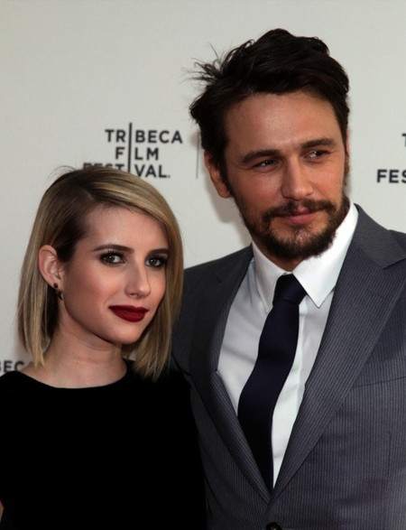 Emma Roberts y James Franco