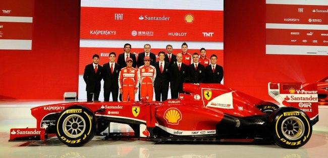 Scuderia Ferrari Team 2013