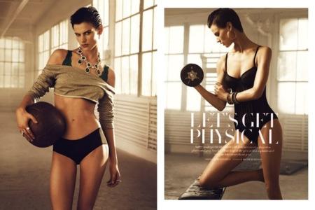H&M sube la temperatura del 'momento gym' en su nuevo número