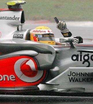 Lewis Hamilton, Campeón del Mundo 2008