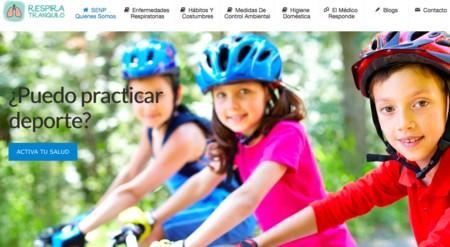Respira tranquilo, la web para familias sobre patologías respiratorias
