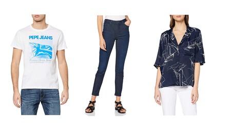 Chollos en tallas sueltas de camisetas, pantalones o blusas de marcas como Superdry, Pepe Jeans o Lee a la venta en Amazon