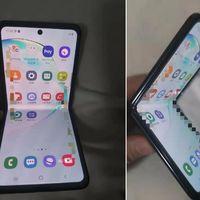 """El """"razr de Samsung"""" es real: estas son las primeras fotos del nuevo Galaxy Fold, el segundo smartphone plegable de la compañía"""