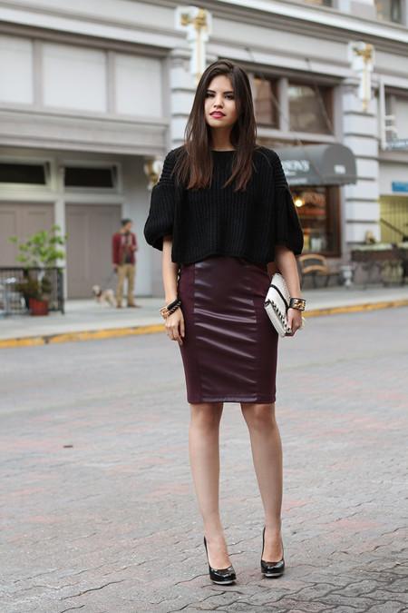 Falda Lapiz Look Oficina 2015 2