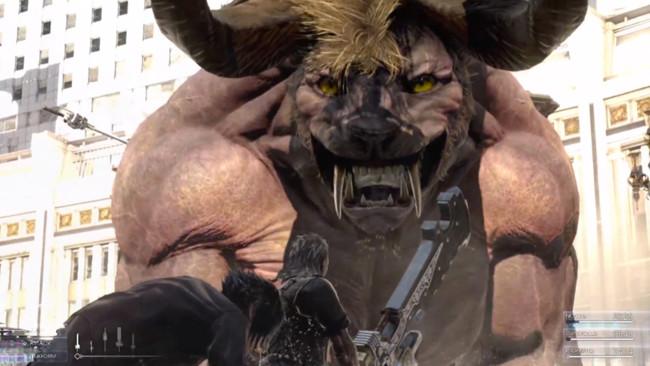Final Fantasy Xv Batalla