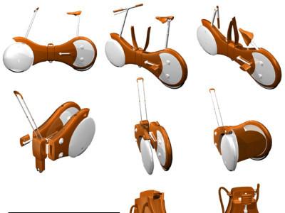 Un nuevo concepto de bici plegable para trasladar a cualquier lado
