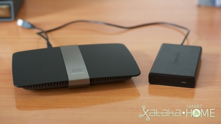 Router Linksys ea4500 - transferencia