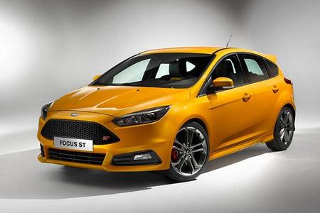 Ford hace facelift al Focus ST