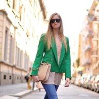 Esta Primavera el verde+nude es la combinación ganadora