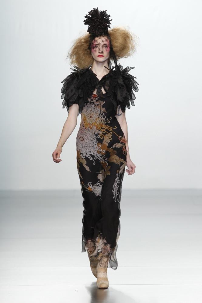 Foto de Elisa Palomino en la Cibeles Madrid Fashion Week Otoño-Invierno 2011/2012 (12/30)