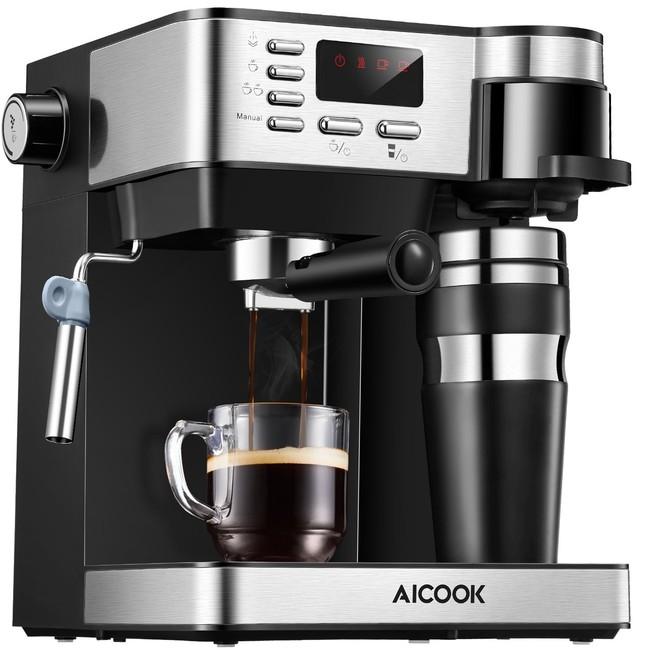 Oferta flash en la cafetera multifunción Aicok: hasta medianoche su precios será de 89,99 euros en Amazon