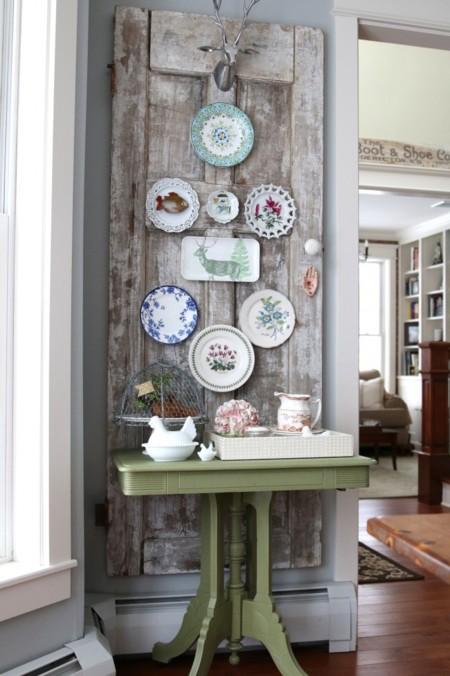 Vintage Door Plate Wall 682x1024