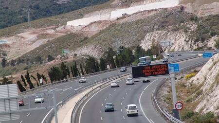 España autopista peaje viñeta