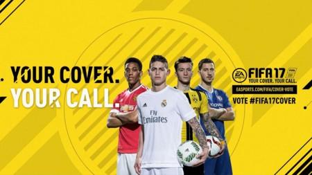 La portada para FIFA 17 será elegida por sus fans con cuatro diferentes jugadores