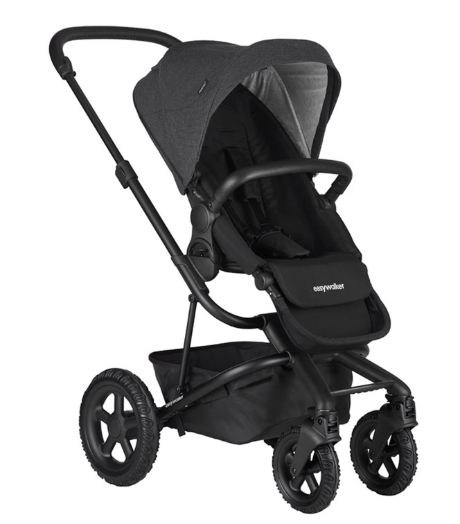 Silla de paseo Easywalker Harvey 2 All-Terrain Night Black negro