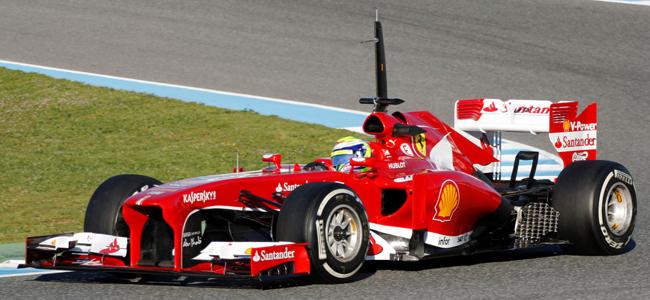 Felipe Massa F138 Jerez