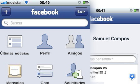 Facebook 3.0 para el iPhone e iPod touch ya disponible