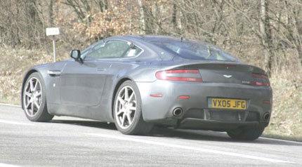 Aston Martin V12 Vantage RS, fotos espía