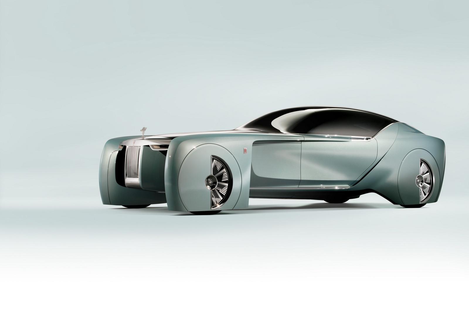 Foto de Rolls-Royce Vision Next 100 concept (1/27)