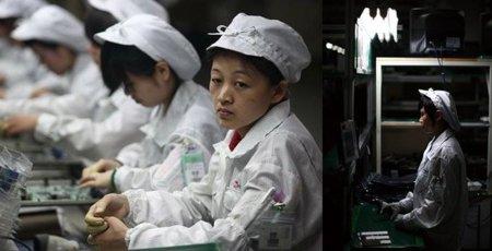 La vida en una fábrica de Foxconn