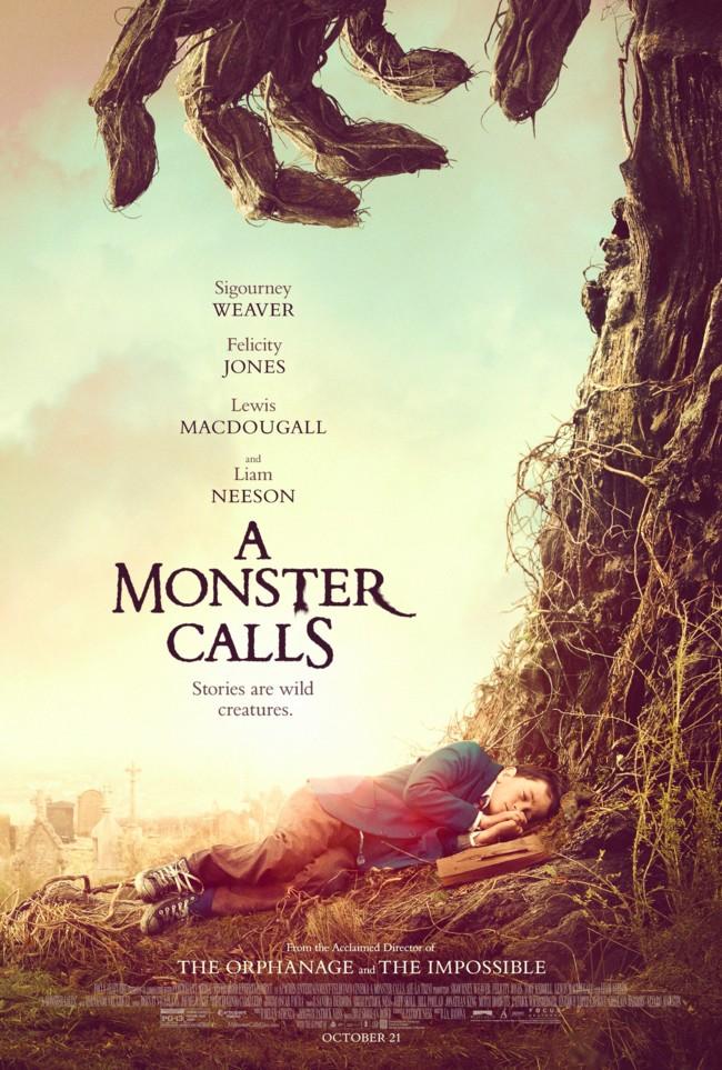 A Monster Calls Poster Imagen