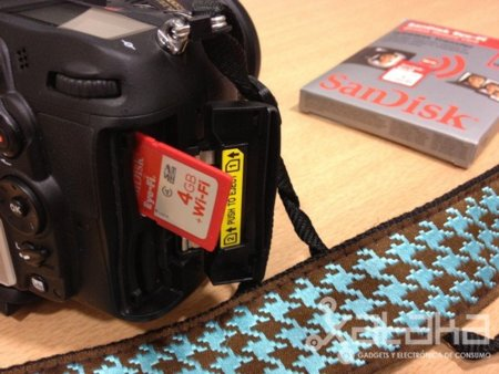 Sandisk Eye-Fi, probamos la tarjeta SD WiFi