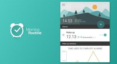 Morning Routine, una aplicación de alarma que integra Material Design de manera increíble