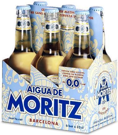 Aigua de Moritz, nueva cerveza sin alcohol Moritz