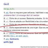 La RAE elimina la acepción machista de 'mujer fácil' del diccionario