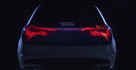 Audi Swarm, el OLED va a la zaga de los coches