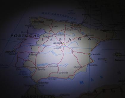 Mapa español de probabilidad de impago