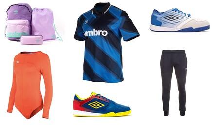 Ofertas Umbro en Amazon con descuentos de hasta el 30% en zapatillas, camisetas, sudaderas o pantalones deportivos