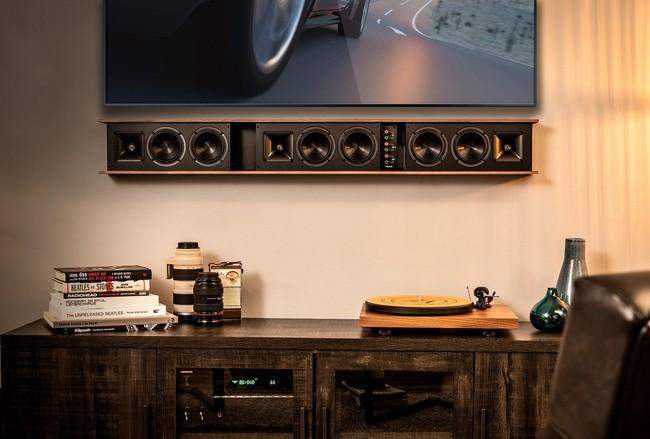 Si buscas barra de sonido pasiva de alta gama, la Klipsch Heritage llega para acompañar a televisores de hasta 80 pulgadas