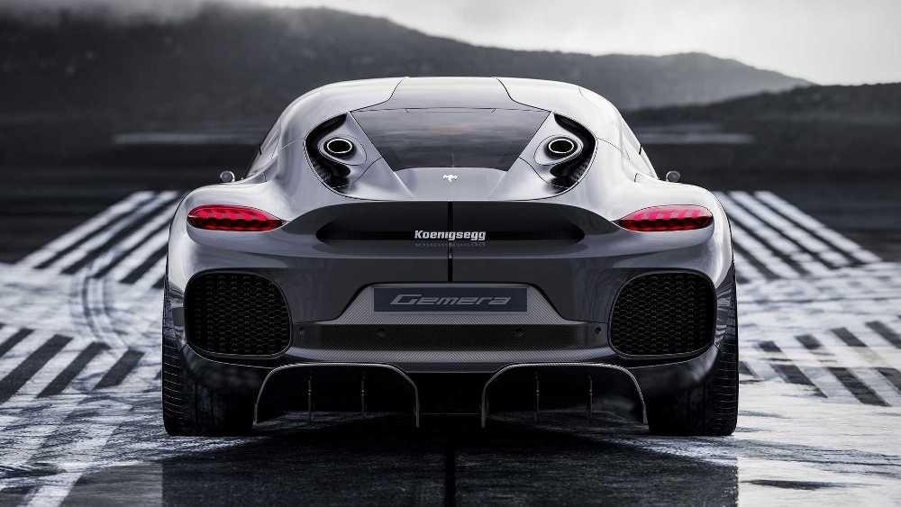 Foto de Koenigsegg Gemera 2021 (11/11)