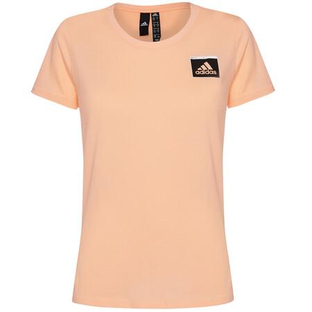 Camiseta Adidas Mujer Salmon