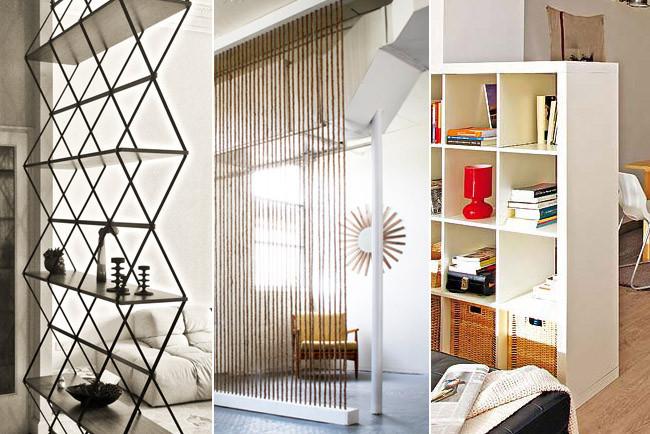 Tres originales ideas para separar ambientes - Ideas para separar ambientes ...