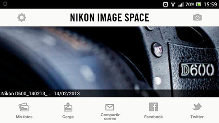 Nikon Image Space Android