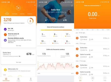 Xiaomi Mi Smart Band 5 Analisis Mexico App Mi Fit Actividad Fisica