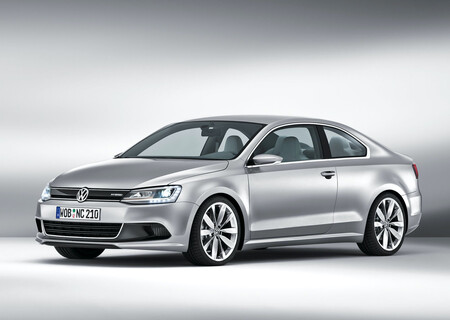 Volkswagen New Compact Coupe Concept Jetta Coupe MK6 8