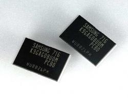 Memorias NAND de 16 GB de Samsung, en producción