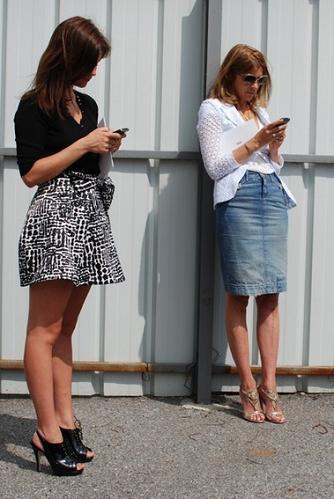 El estilo y la moda se llevan en los genes, por Carine Roitfeld y Julia Restoin