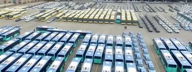 Casi el 99% de los autobuses eléctricos del mundo están en China, y esto ya se empieza a ver en la demanda mundial de petróleo